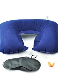 Outdoor Three-piece Suit Travel Treble U-shaped Pillow Blindfold Earplugs