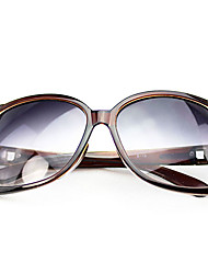 Alooooha Popular Classic Korean Stylish Sunglasses(Brown)