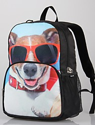 2014 Cute Dogs Printed Backpack for Kids