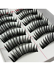 Eyelashes lash Eyelash Lengthens the End of the Eye Volumized Fiber