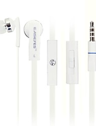 EM802 Universal 3.5mm Love Music In-ear Headsets with Microphones for Phone and Others(Assorted Color)