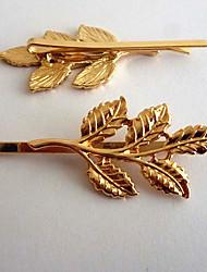 folha de mulheres canlyn elegante hairpin