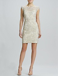 Women's Elegant Lace Low-v On The Back Evening Dress