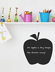 modelo de la manzana fruta jiubai ™ pared calcomanía etiqueta de la pared de pizarra, 36 * 40cm