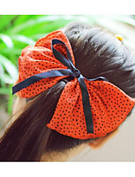 New Product Super Big Bowknot Fabric Hair Pins