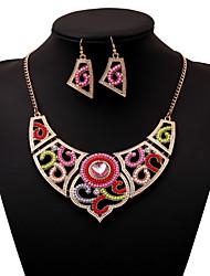 Women's Alloy Jewelry Set Multi-stone/Rhinestone