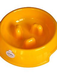 (100-150г) окружающей смолы дроссель миска для домашних животных собак (разные цвета)