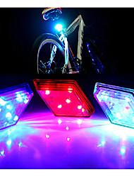 FJQXZ 5 LED 7 Flash Model Cycling Warning Tail Light