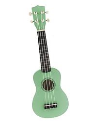 "21"" Linden Wood Soprano Ukulele(Green) UK-21"