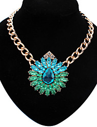 XinYuan Fashion Casual Faux Gem Necklace