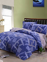 Manmer Duvet Cover Set 4 Piece 100 Cotton Active Printing Bedding 200 230Cm