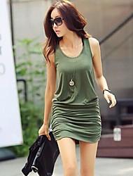 Women's Side Catch% Modify The Vest Dress