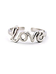 Shixin® Fashion LOVE Shape Adjustable Alloy Toe Ring(1 Pc)