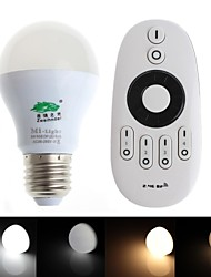 Zweihnder   E27 6W 470lm 2700-6500K 2.4GHz RF Transmission LED Bulb Warm/White Light with Remote Control (AC 85-265V)