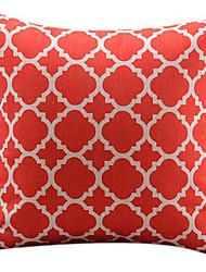 традиционный китайский красный хлопок / лен декоративная наволочка