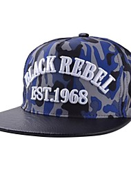 Unisex Embroidery Letters Blackrebel Rock Band Along  Hip Hop Cap