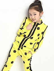 Girl's Printed Clothing Sets(More Colors)