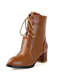Women's Shoes Motorcycle Chunky Heel Ankle Boots More Colors available