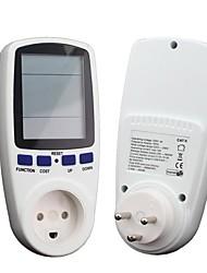 ден счетчик электроэнергии, Вт Напряжение вольт анализатор метр монитор с коэффициентом мощности