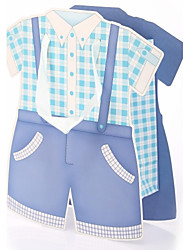 Baby Shower Boy Suit Gift Bag