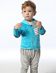 Boy's New Fashion Style velure Sports Casual Clothing Sets