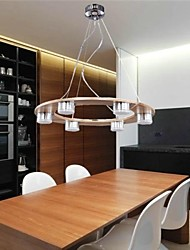 LED Pendant Lights , Modern/Contemporary Living Room/Bedroom/Dining Room/Study Room/Office/Kids Room/Game Room Wood/Bamboo