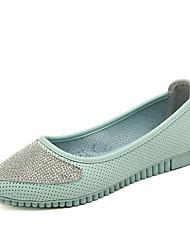 женская обувь круглый носок плоским пятки ботинок квартир больше цветов