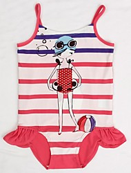 Girl's Polyester Swimwear , Summer