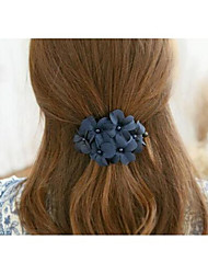 Sweet Flowers Pearl Hair Pins Hair Accessories Random color