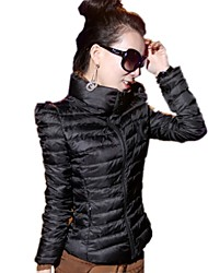 New Autumn Winter Womens Short Cotton Coat