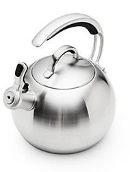 BODEUX® Heat-Resistant Tea Kettles 304 Stainless Steel Dia 15.5cm*13cm