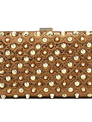 Leatherette Wedding / Special Occasion Clutches / Evening Handbags with Rivets (More Colors)