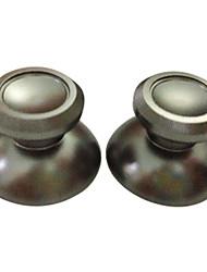 2 x remplacement bouchons en aluminium 3d joystick rocker bouchon coquille champignon pour xbox un contrôleur sans fil