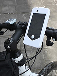 Silica Gel Shock-absorbing Waterproof Bracket Cycling Case for iPhone 4/iphone 4S(Assorted Color)