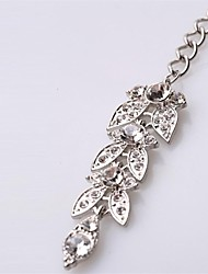 Fashion Exaggerated Butterfly Crystal Pendant Hair Headband  Hair Accessories
