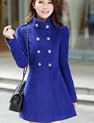женская позиция тонкая талия пальто