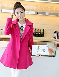 Women'S Fashion Autumn And Winter Woolen Warm Coat