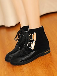 Women's Shoes Round Toe Low Heel Ankle Boots More Colors Available