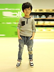 Boy's Fashion And Personality Jeans