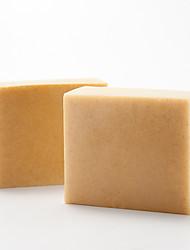 [Amini] Natural atopy skin major care handmade product Yellow clay facial soap bar