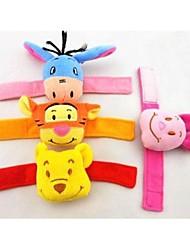 bebê animais forma chocalhos brinquedos para brinquedos de pelúcia atividade berço carrinho de bebê (azul, rosa, yelow, laranja)