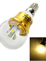 e14 5w 10x5630 SMD 450lm 3000k lumière blanche chaude Ampoule LED (AC 85 ~ 265V)