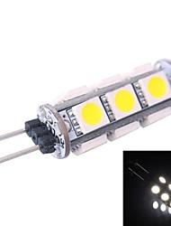 g4 1.5w 120lm 7000k 13x5050 blanc conduit ampoule (dc 12v)