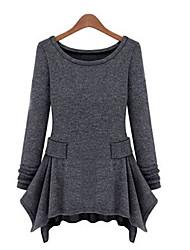 Women's Dresses , Cotton Blend Casual MiLi