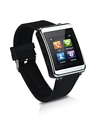 Uzou® Pedometer Bluetooth 3.0 Call Answer/Reject SMS Music Player Smart Watch