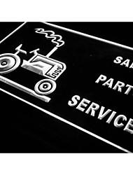 j280 signo partes de ventas de servicios de camiones tienda de luz de neón