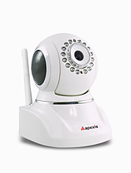 Apexis H.264 Indoor PT Wireless HD IP Camera with Plug and Play ,Mega-pixel resolution, night vision