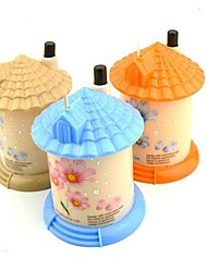 Cute Little House Automatic Toothpick Storage Boxes,Set of 3(Random Color)
