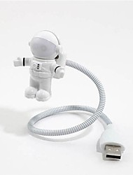 New LED Space Astronaut USB Keyboard Night Light Lamp