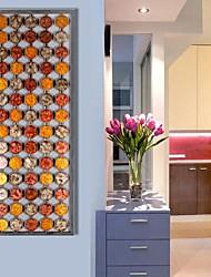 de metal decoração arte da parede parede, cor arte abstrata da parede círculo decoração